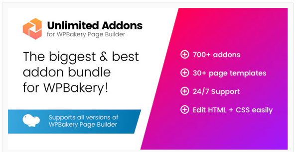 unlimited addons for wpbakery