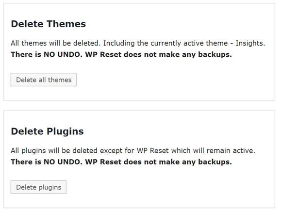 wp reset plugin review
