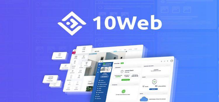 10Web Dashboard