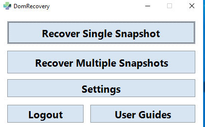 domrecovery review