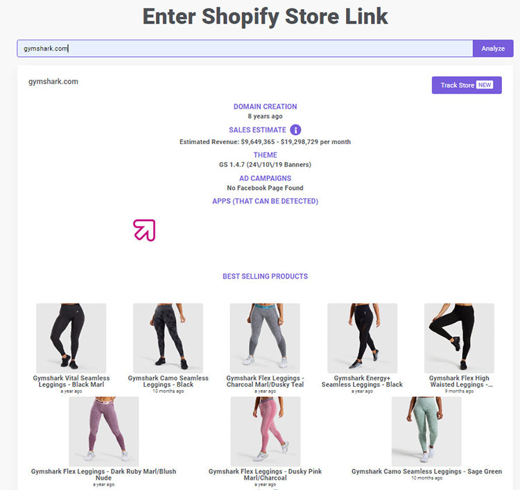 Store Analyzer feature