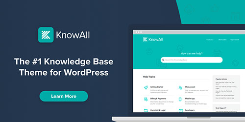 WordPress knowledge base theme