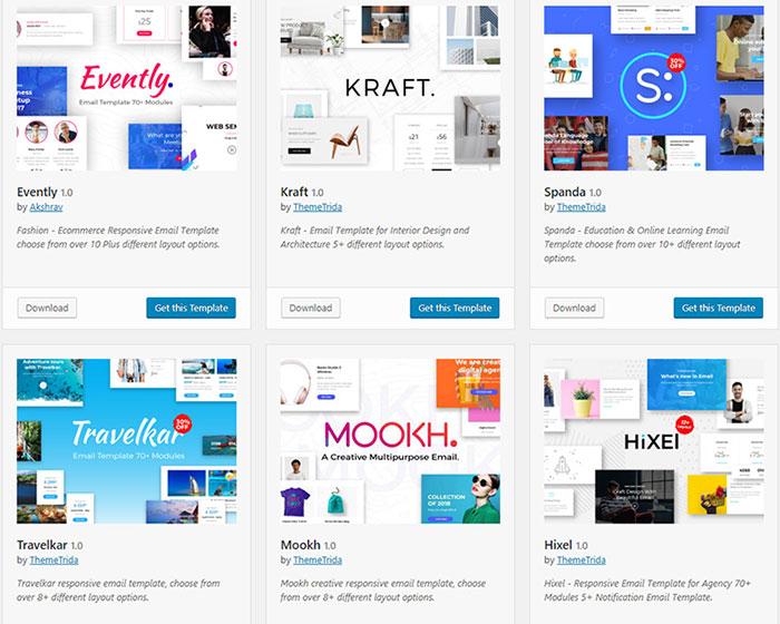 mailster premium templates