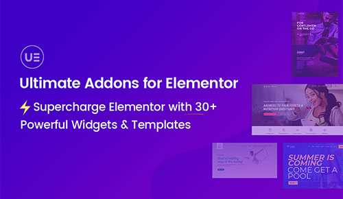 ultimate addons for elementor plugin