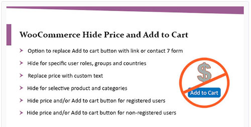 woocommerce hide price until login
