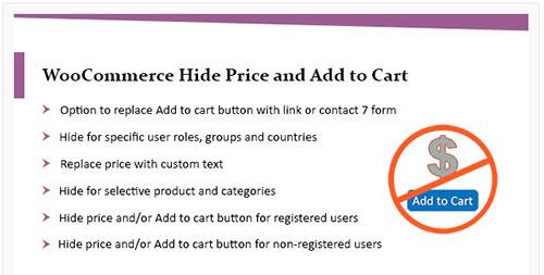 woocommerce hide price until login