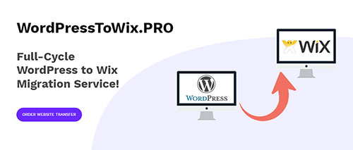 wordpress to wix