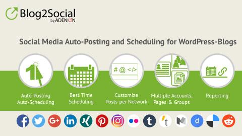blog2social advantages