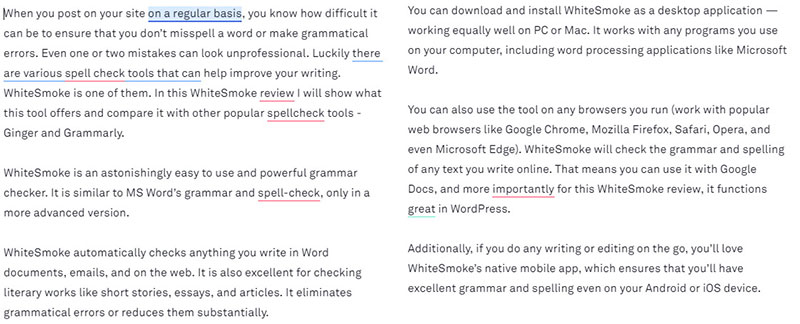 grammarly grammar and spell check test