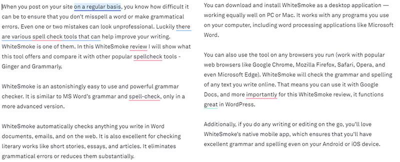 grammarly grammar and spell check test