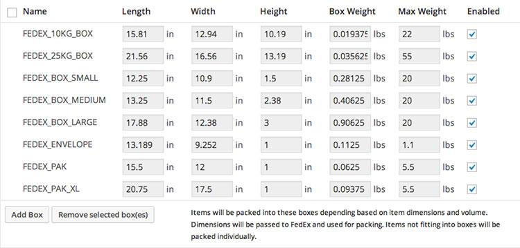 FedEx Shipping Method WooCommerce