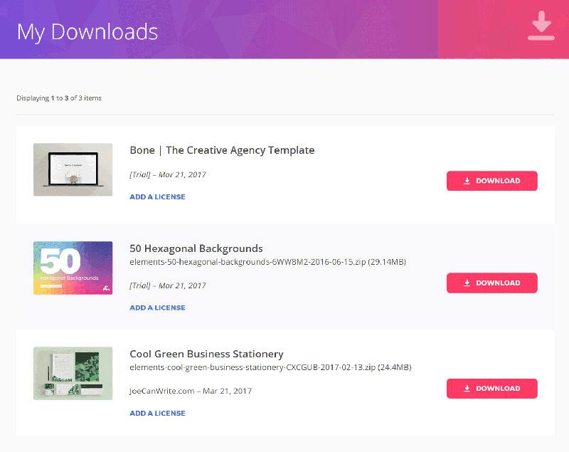 envato elements downloads