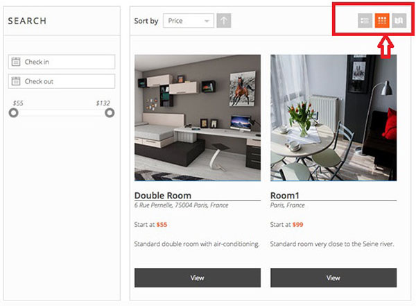 search grid view example pinpoint system pro