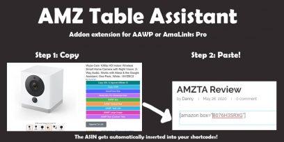 AMZ Table Assistant Review