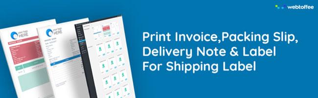 woocommerce print shipping labels
