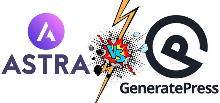 astra vs generatepress comparison