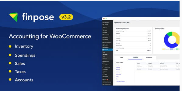 Finpose accounting WooCommerce plugn.