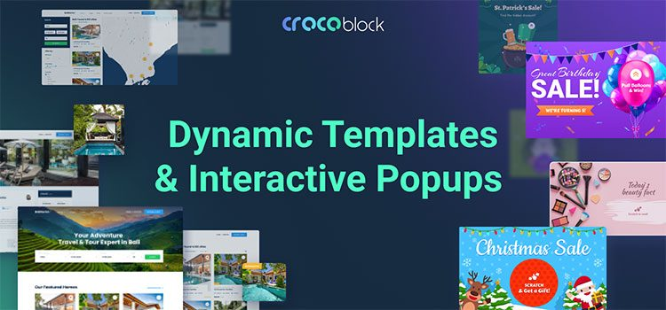 Crocoblock dynamic templates can be used with Elementor page builder.
