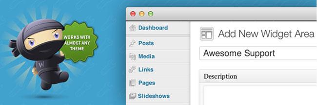 How to use custom sidebar in WordPress.