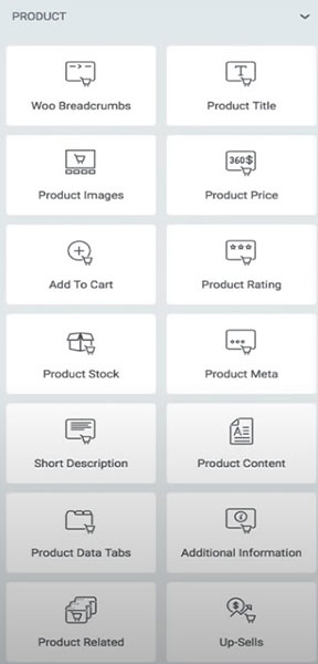 There are many WooCommerce elements you can add using Elementor.