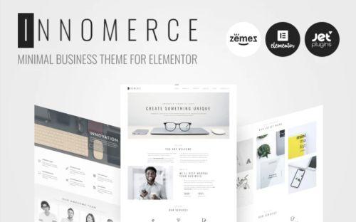 Innomerce Business Multipurpose WordPress Theme.