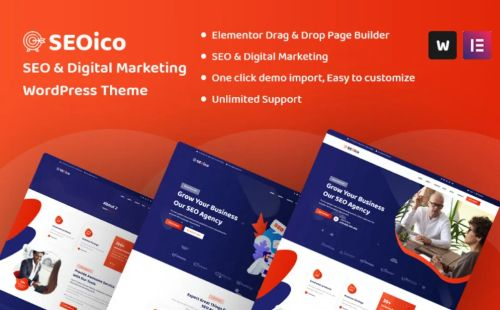 Seoico SEO & Digital Marketing Theme.