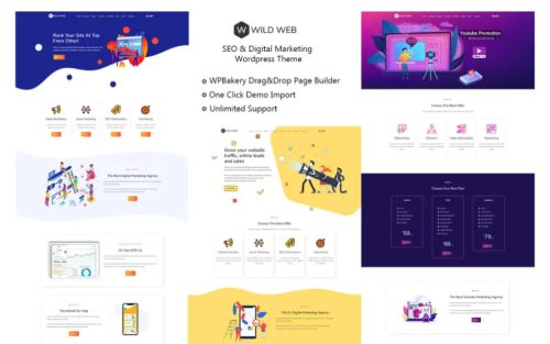 WildWeb Seo & Marketing Agency Theme.