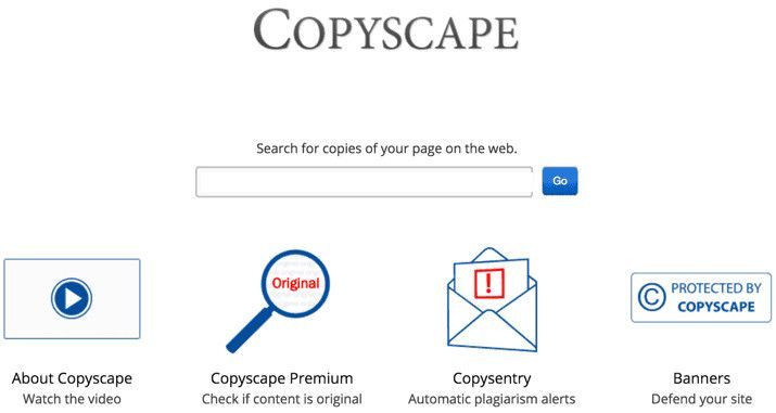 Copyscape also has automatic plagiarism alerts feature.