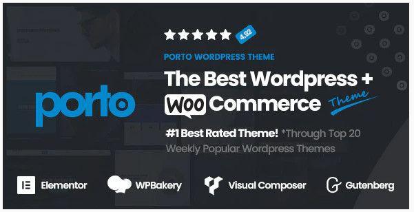 Porto multipurpose WooCommerce theme.