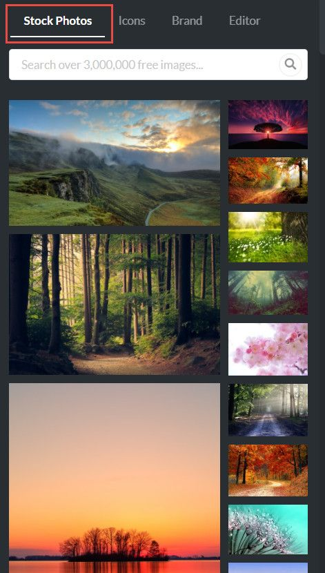 RelayThat image catalog selection.