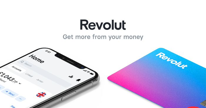 Revolut account features.