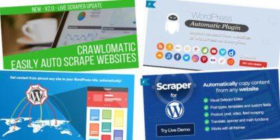 Best WordPress scraper plugins.