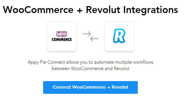 Connect Revolut with WooCommerce.