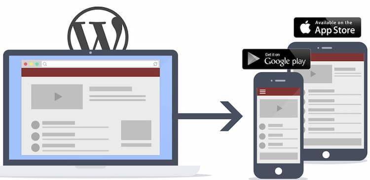 Best free WordPress plugin for creating website mobile app.