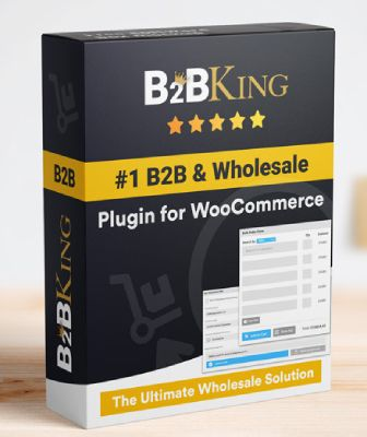 B2BKing free WooCommerce wholesale plugin.