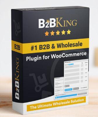 B2BKing free WooCommerce wholesale plugin.