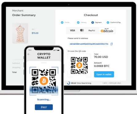 TripleA Bitcoin Payment Gateway for WooCommerce.