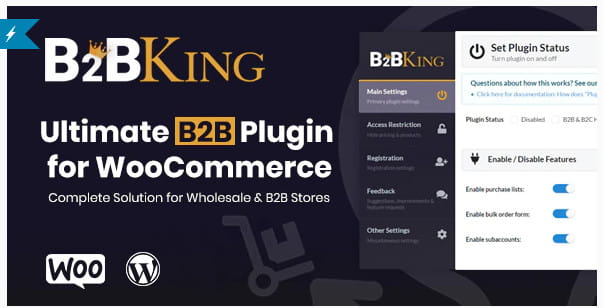 Best free WooCommerce B2B plugin.