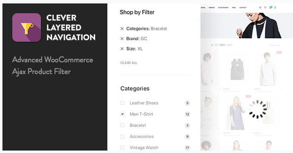 Layered Navigation WooCommerce Ajax Product Filter.