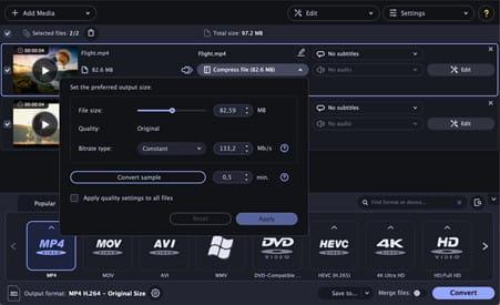 Movavi video converter review.