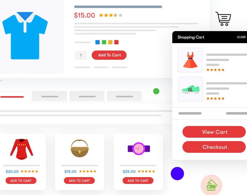 BuddyX theme WooCommerce integration.