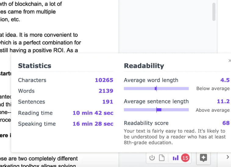 Linguix is one of Grammarly competitors.