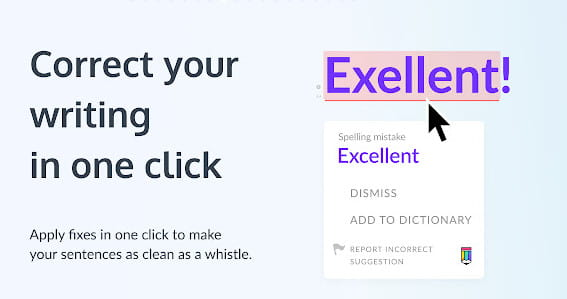 Linguix is site similar to Grammarly.
