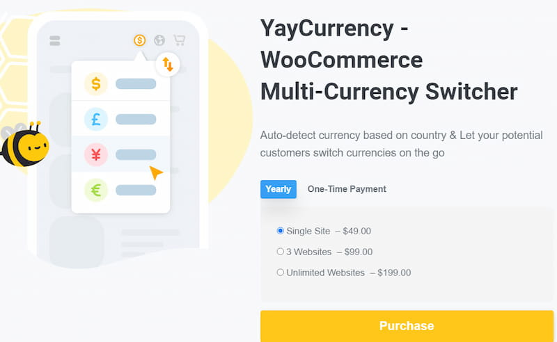 YayCurrency pricing plans.
