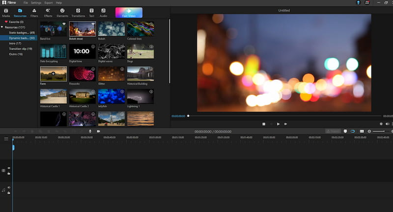 How to use Filme video editor?