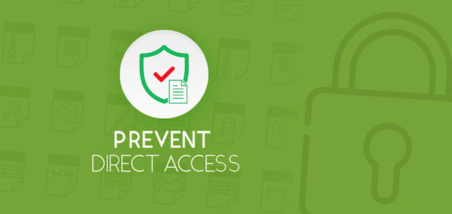 Prevent Direct Access to protect WordPress files.