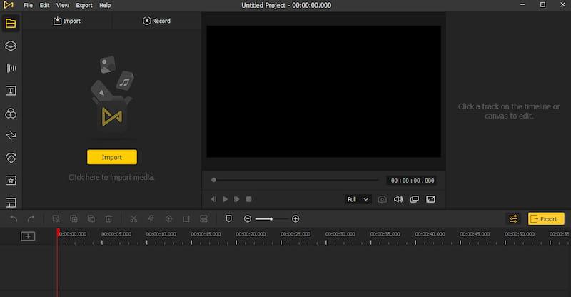 TunesKit AceMovi Video Editor.