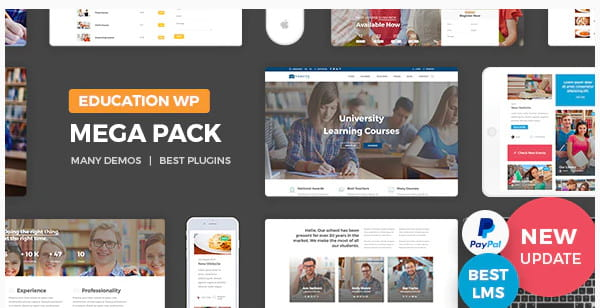 Education Pack WordPress theme review.