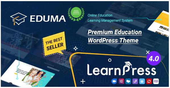 Eduma theme review.