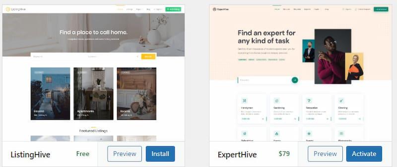 HivePress themes.